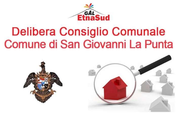 Delibera Consiglio Comunale Comune di San Giovanni La Punta