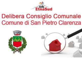 Delibera Consiglio Comunale Comune di San Pietro Clarenza