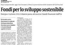 La Sicilia. Fondi per lo sviluppo sostenibile