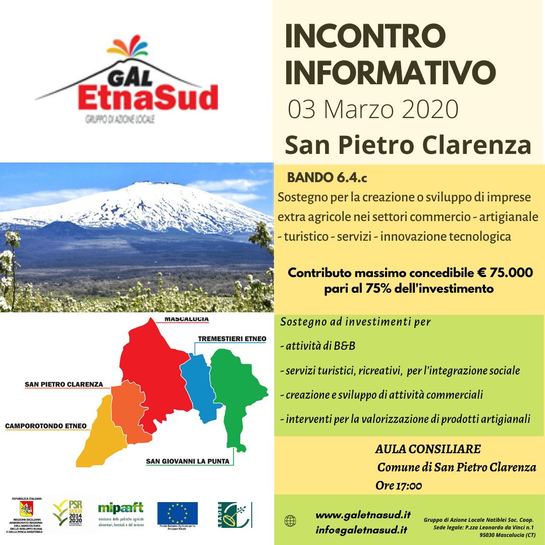 SAN PIETRO CLARENZA 3 MARZO 2020