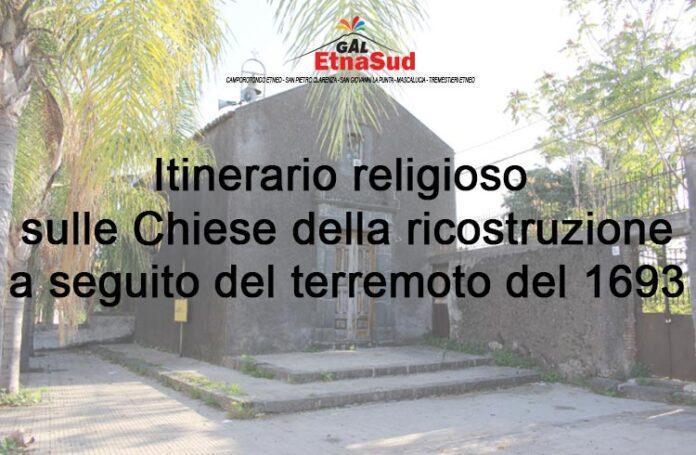 Itinerario religioso sulle Chiese della ricostruzione a seguito del terremoto del 1693